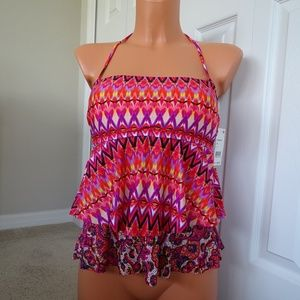 Kenneth Cole NWT Beyond The Sea Top Swimsuit Small